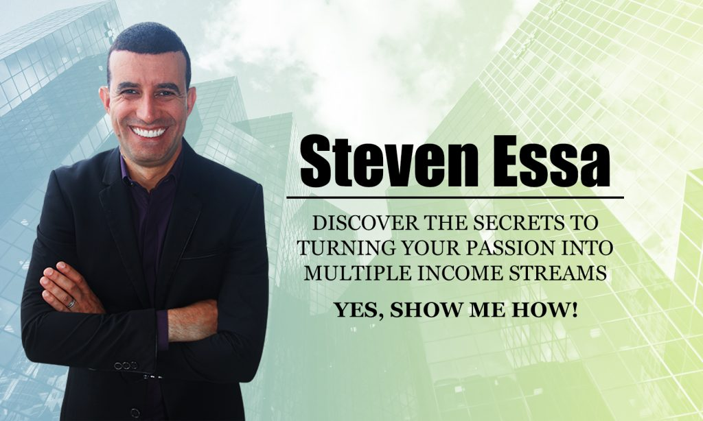 Discover the Secrets to Turning your Passion into Multiple Income Streams
