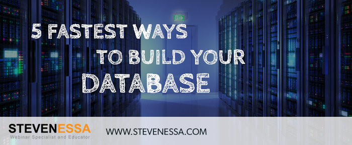 5 Fastest Ways to Build Your Database