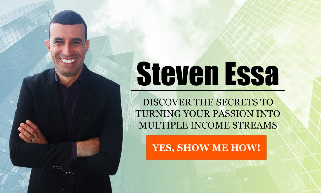 Turning Your passion into Multiple Income Streams