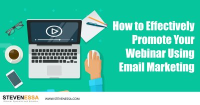 How to Effectively Promote Your Webinar Using Email Marketing